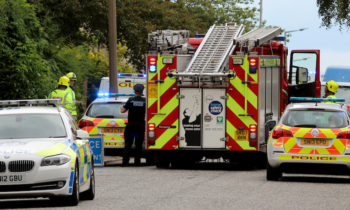 A motorcylist was rushed to hospital following a collision on Ferry Road Drive, Edinburgh at around 5pm on Thursday 30th June 2016.