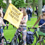 Naked bike ride takes place today