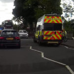 Eight year old boy rushed to hospital following Lanark Road West collision