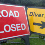 A motorcyclist has died following a collision with a car on the A68