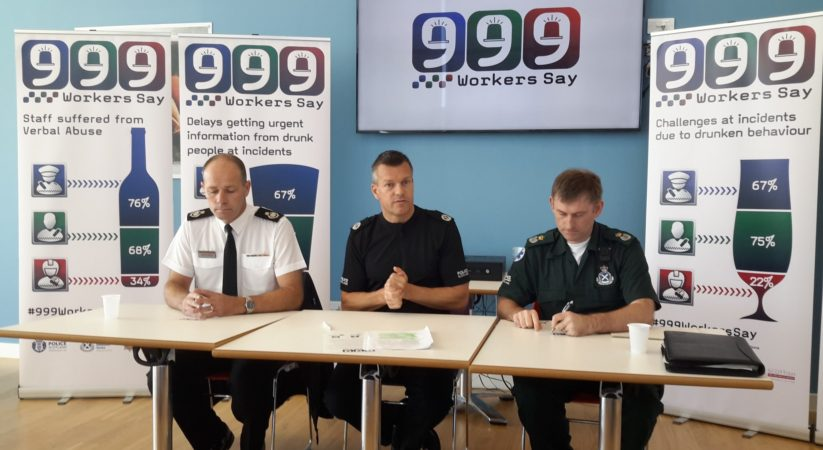 Emergency service workers face shocking level of alcohol related abuse