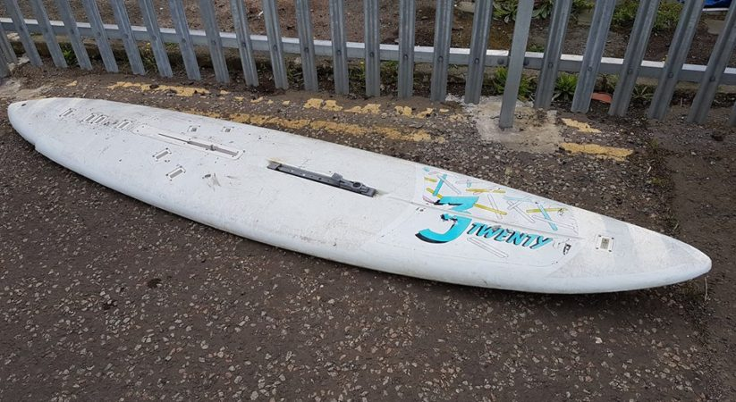 Major search triggered after surfboards found floating in Forth