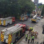 "Multi-agency response to ""False alarm"" at Edinburgh University building"