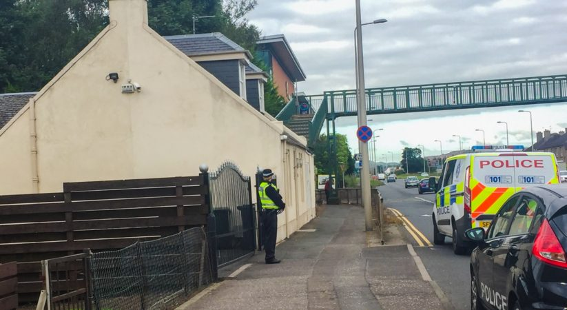 Police investigate early morning shooting at Ratho Station