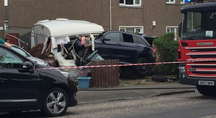 Teenager detained following Groathill Road North collision