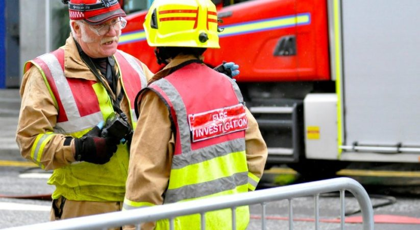 Scottish Fire & Rescue Service urge people to stay safe over the festive period