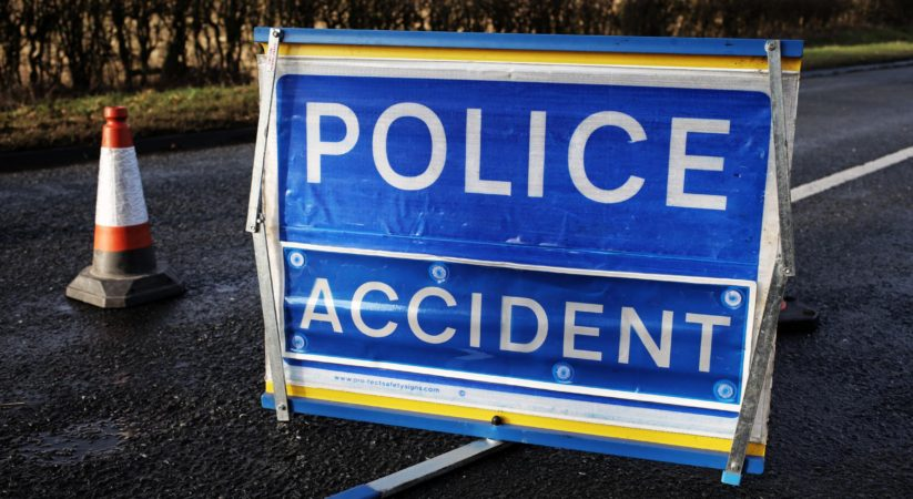 A 19 year old pedestrian is in hospital with serious injuries after a crash involving two cars in Musselburgh