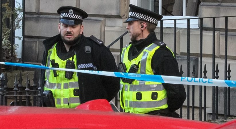 Police appeal following suspicious death in Scotland Street