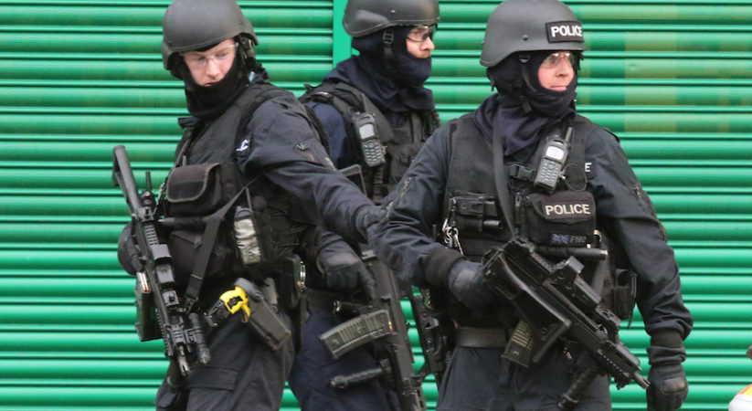 BREAKING: Armed police officers in attendance at Lindsay Road