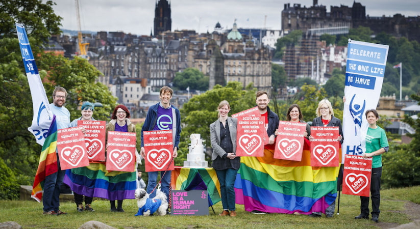 Scotland supports campaign for equal marriage in Northern Ireland ahead of Belfast march