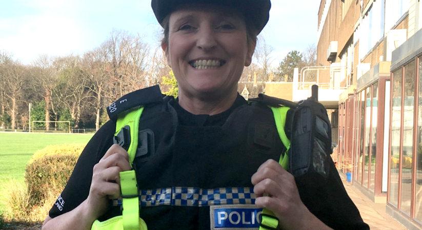 Edinburgh police officer picks up top award