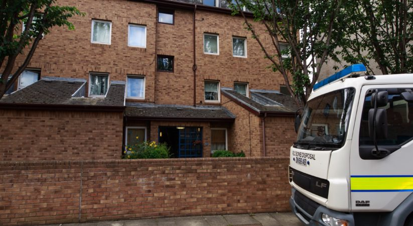 Bomb disposal team attend property following death of teenager