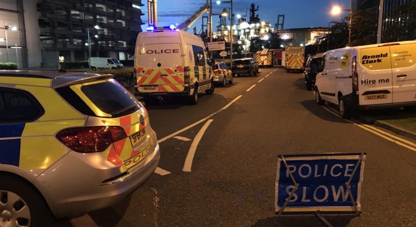 BREAKING: Emergency services including Coastguard in attendance at incident in Leith