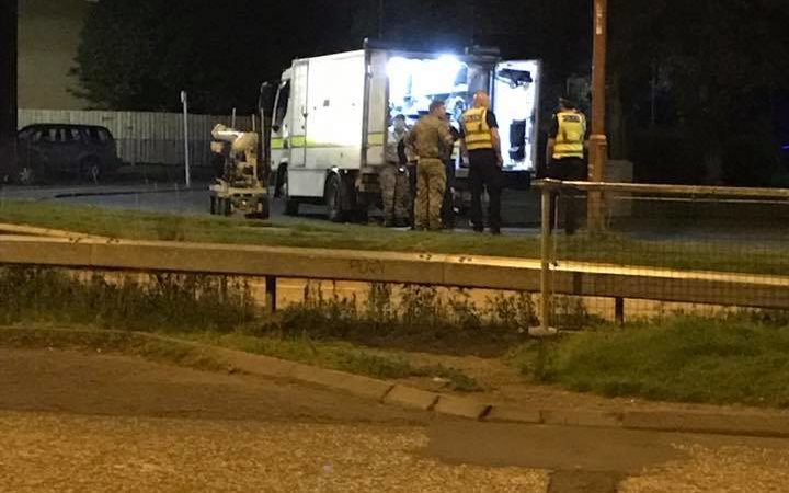 Breaking News – Bomb Disposal unit dealing with ongoing incident in Edinburgh
