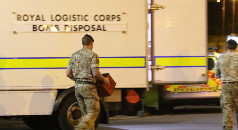 Bomb disposal team called  to police incident after 'item' find