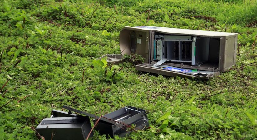 ATM stolen during series of commercial housebreakings across Edinburgh and Midlothian