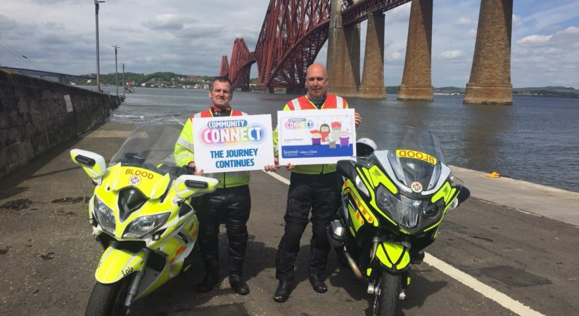 Blood Bikes hoping to secure cash boost from Scotmid