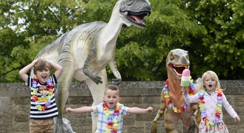 Design a Dinosaur at Dynamic Earth this summer