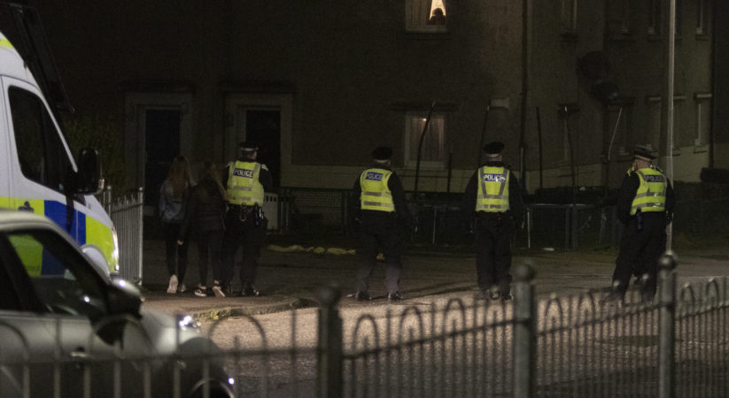 Arrests made after youths target emergency services with fireworks