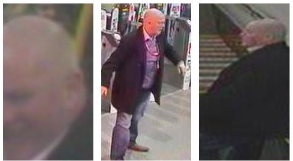 Transport Police issue CCTV image following indecency incident on Edinburgh train