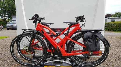 Women robbed of electric bikes at knifepoint in Cramond