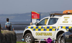 Six people 'waist deep' in water rescued near Cramond Island