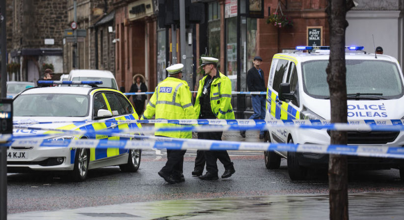 BREAKING: Man dies following collision in Leith