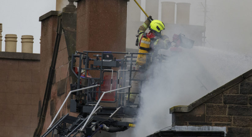 Police name man who died in Fountainbridge fire