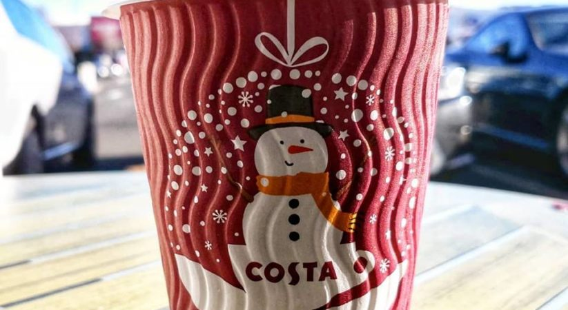 Pick up FREE Costa coffee all day today