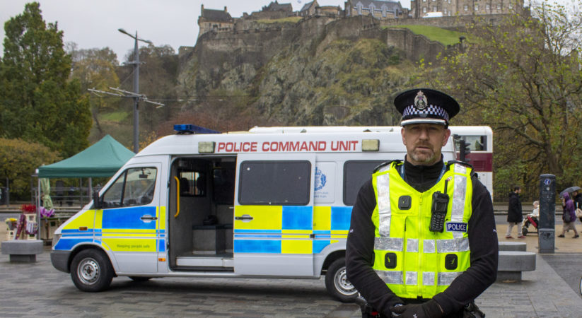 Police launch Edinburgh's festive policing campaign