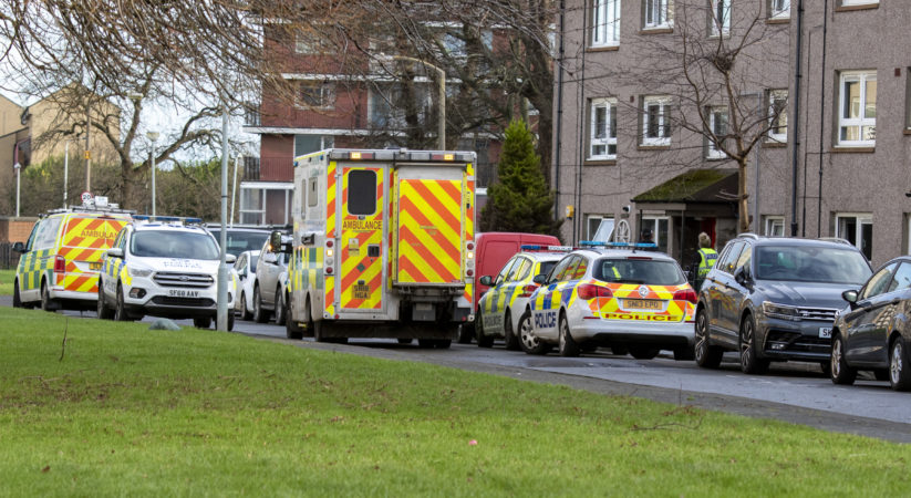 Six arrested following Muirhouse disturbance