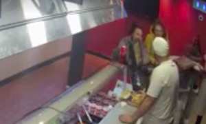 Dalkeith takeaway owner shares video of woman stealing Sick Kids charity tin
