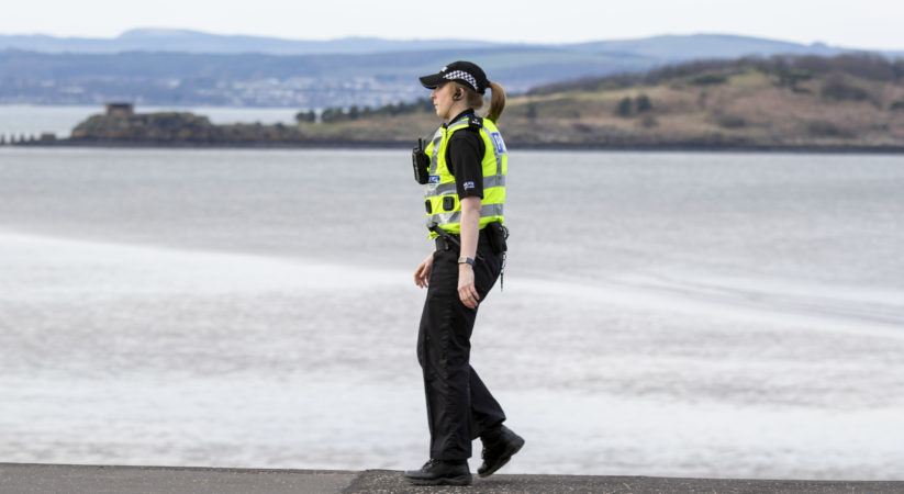 Footpath to Cramond Island closed due to lockdown