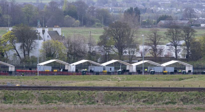 NHS and key worker coronavirus testing facility opens at Edinburgh Airport