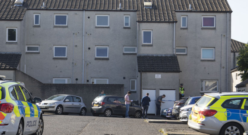 Investigation launched after man dies in East Craigs