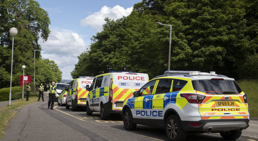 Man arrested following incident on Corstorphine Hill