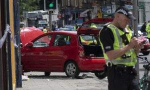 Woman arrested in connection with Morningside Road fatal collision