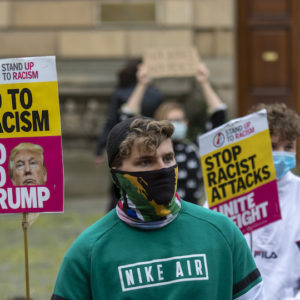 In Pictures: George Floyd protest in Edinburgh