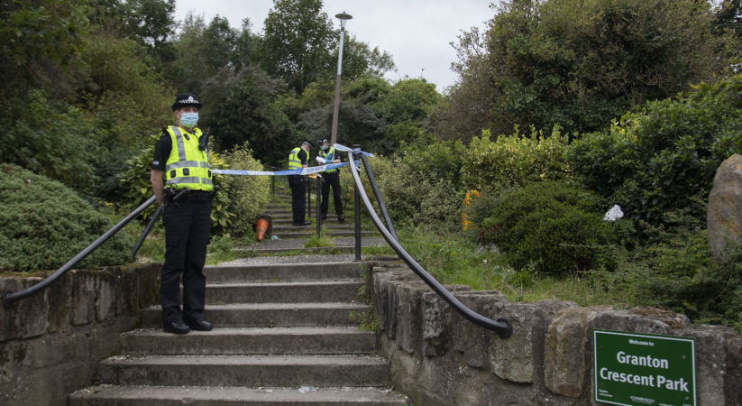 Police investigate after body found in Granton