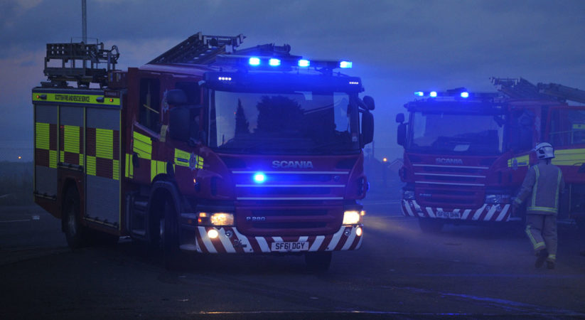 Fire crews respond to over 500 bonfires in one night
