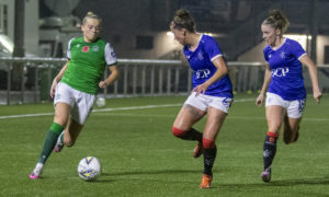 Hibs winning start to the season ends with narrow defeat to Rangers at Ainslie Park