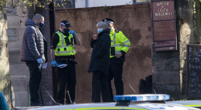 Investigation launched after man's body pulled from Water of Leith