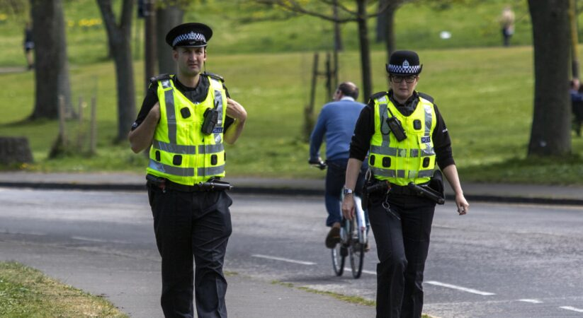 Police appeal following Meadows disorder