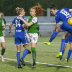 Hibs needed a late equaliser to secure a share of the points in the Edinburgh derby against Spartans at a rainy Ainslie Park tonight.
