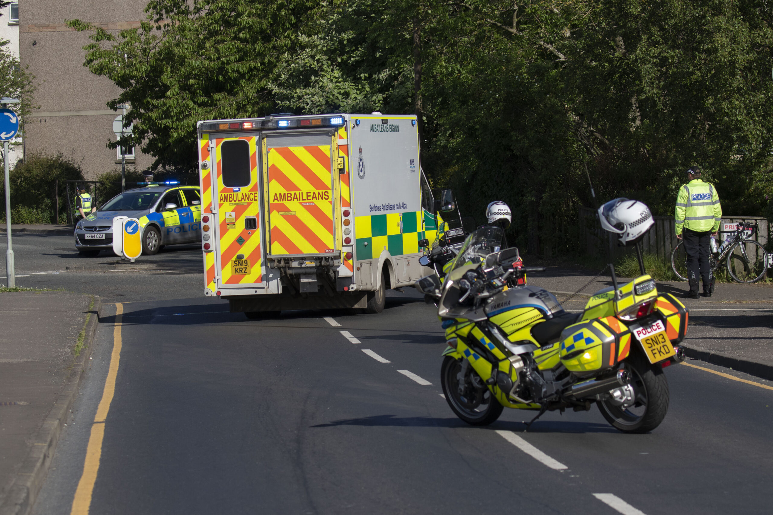 Police appeal following hit and run