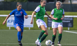 Hibs hit Forfar for seven in final game of the season