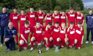 Civil u14s in double cup success