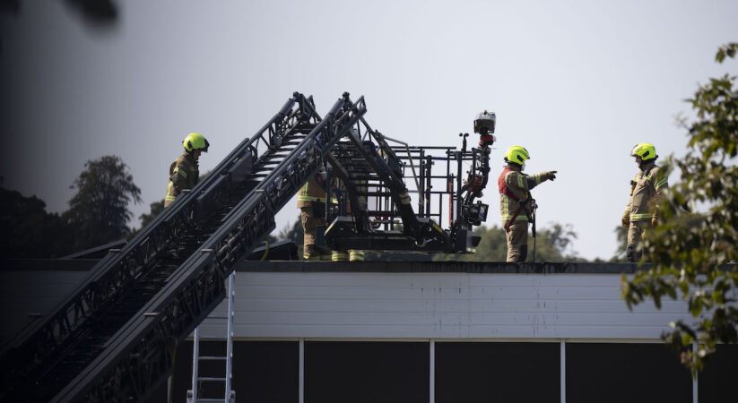 Fire breaks out at primary school