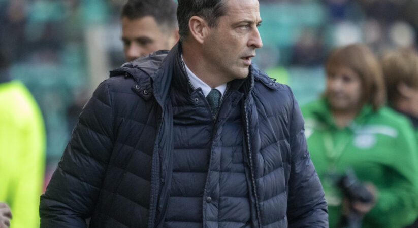Hibs go top with 3-0 win at Easter Road