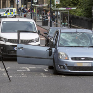 Man due in court over alleged city centre hit and run